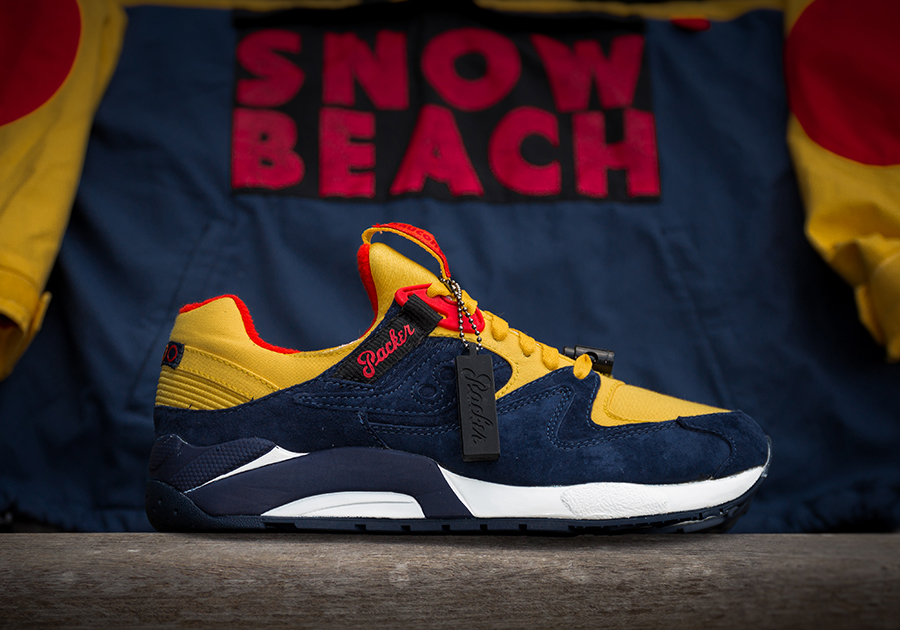 sports shoes 0e920 e8110 ... packer-shoes-saucony-grid-9000-snow-beach-release- ...